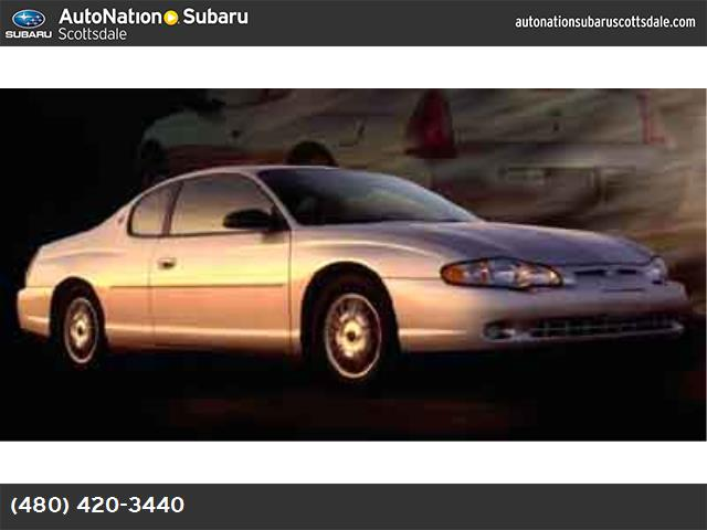 2002 Chevrolet Monte Carlo LS traction control abs 4-wheel air conditioning power windows pow