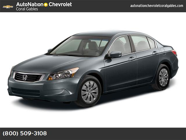 2008 Honda Accord Sdn LX traction control stability control abs 4-wheel air conditioning powe
