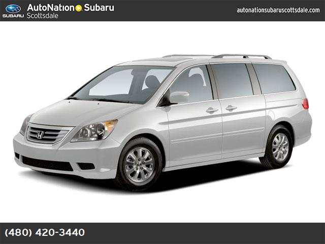2009 Honda Odyssey EX-L loaded with leather and priced below kbb retail 65274 miles VIN 5FNRL3