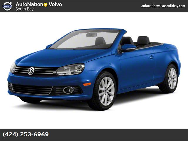 2012 Volkswagen Eos Komfort hill start assist traction control stability control abs 4-wheel