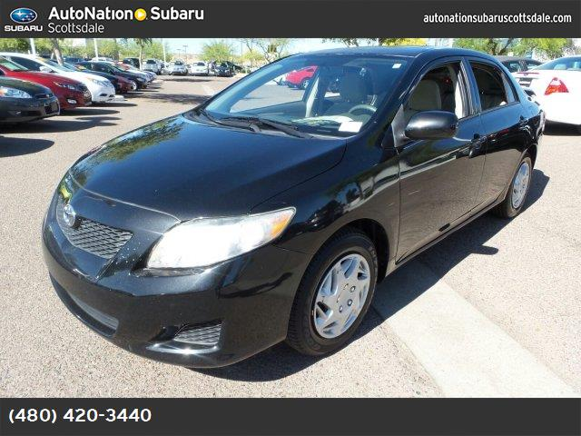 2009 Toyota Corolla LE black sand pearl front wheel drive power steering front discrear drum br