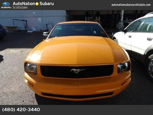 2007 Ford Mustang Premium air conditioning power windows power door locks cruise control power