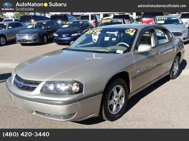 2003 Chevrolet Impala LS traction control abs 4-wheel air conditioning power windows power do