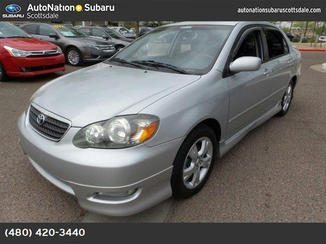 2005 Toyota Corolla XRS brilliant silver with sport package perfect for az sunshine hurry in to