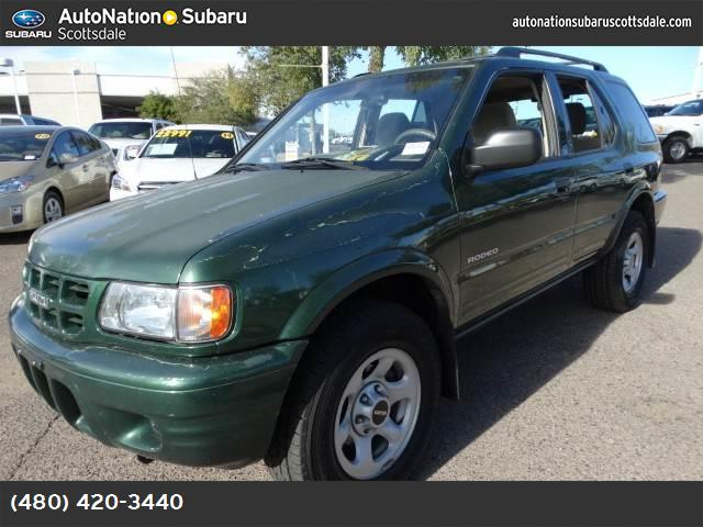 2002 Isuzu Rodeo S looks like a brand new rodeo and is priced below kbb retail 107713 miles VIN