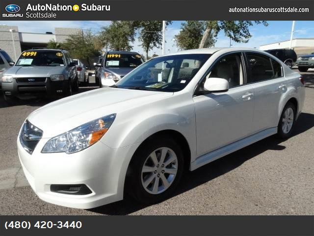 2012 Subaru Legacy 25i Premium priced below kbb retail loaded and awesome az color combo for the s