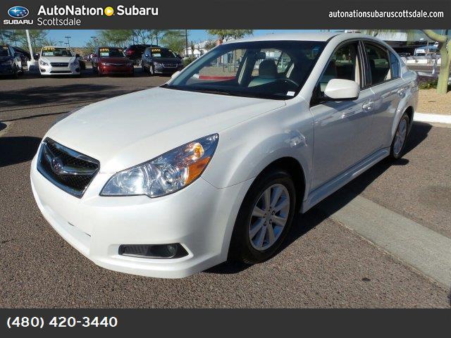 2012 Subaru Legacy 25i satin white pearl all wheel drive power steering 4-wheel disc brakes wh