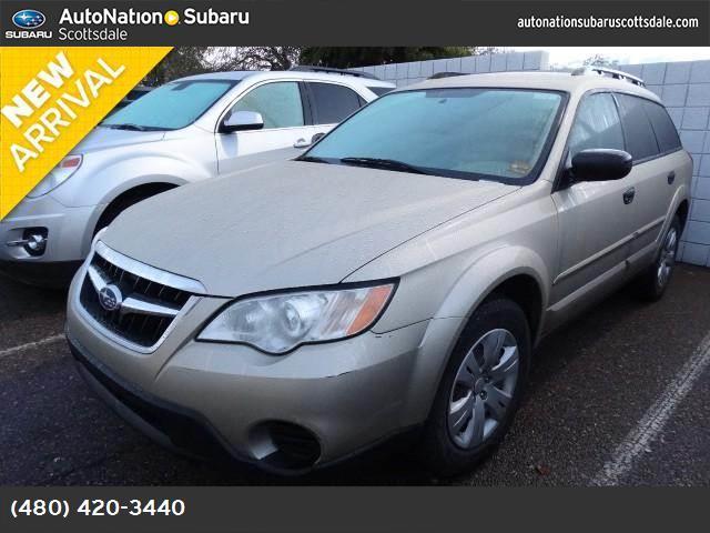 2008 Subaru Outback Natl  abs 4-wheel keyless entry air conditioning power windows power do