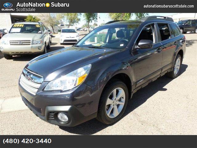 2013 Subaru Outback 25i Premium black striated  cloth seat trim crystal black silica all wheel d