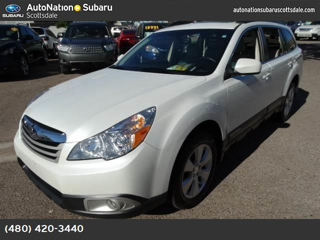 2011 Subaru Outback 25i Prem AWPPwr Moon subaru certified with a clean no accident carfax and one
