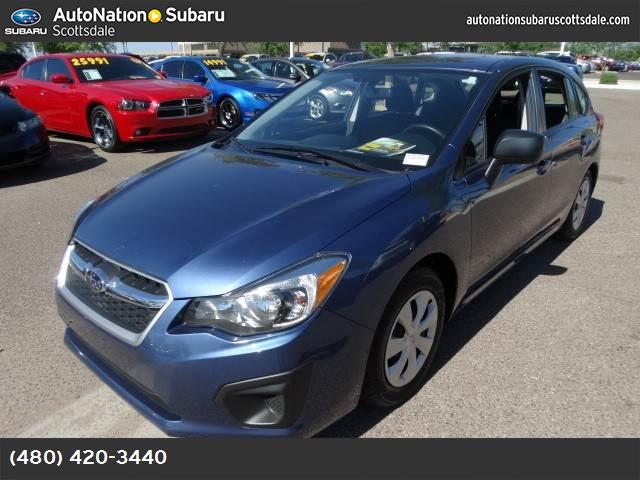 2013 Subaru Impreza Wagon 20i perfect color combo for the az sunshine 11707 miles VIN JF1GPA