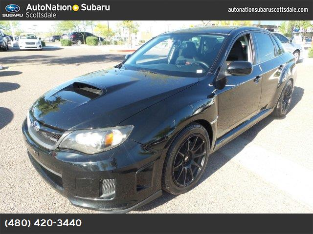 2011 Subaru Impreza Sedan WRX WRX carbon black  checkered cloth seat trim obsidian black pearl tu