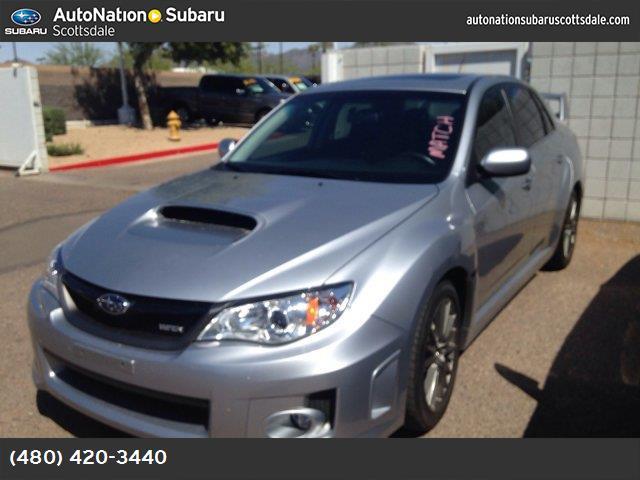 2014 Subaru Impreza Sedan WRX WRX Limited carbon black  leather-trimmed upholstery ice silver meta