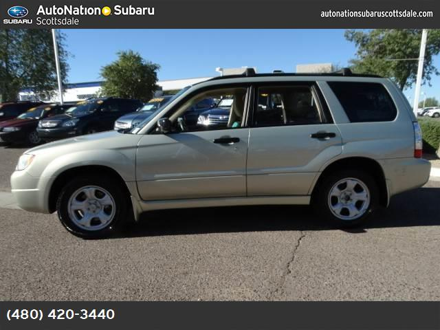 2006 Subaru Forester 25 X clean carfax no accidents one owner sweetheart  135775 miles VIN JF