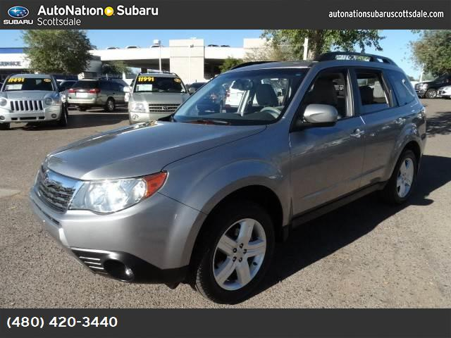 2010 Subaru Forester 25X Limited all weather pkg traction control vchl dynamic control abs 4-w