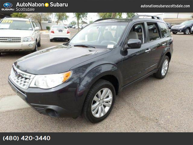 2011 Subaru Forester 25X Premium black  cloth seat trim all wheel drive power steering 4-wheel