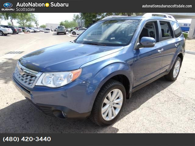 2011 Subaru Forester 25X Touring all weather pkg traction control vchl dynamic control abs 4-w