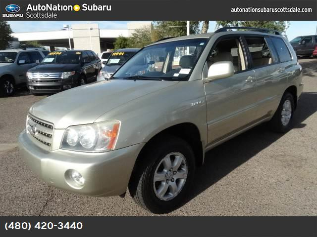 2003 Toyota Highlander  abs 4-wheel air conditioning power windows power door locks cruise co