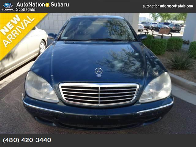 2000 Mercedes S-Class  traction control slip control abs 4-wheel air conditioning power windo