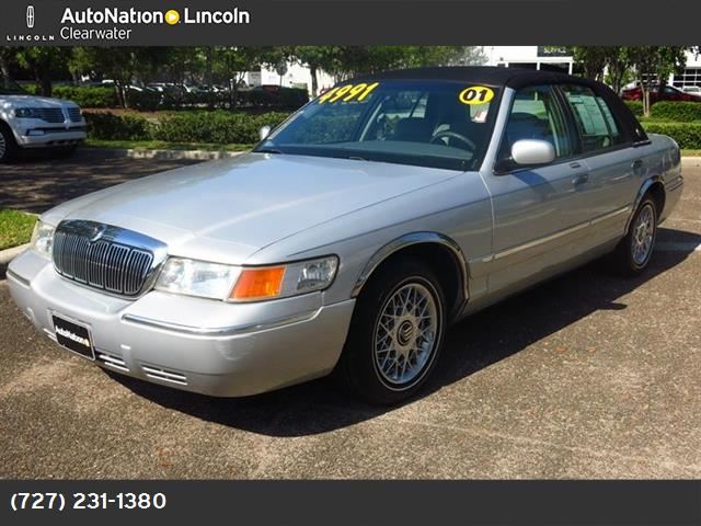 2001 Mercury Grand Marquis near Clearwater FL 33765 for $4,991.00
