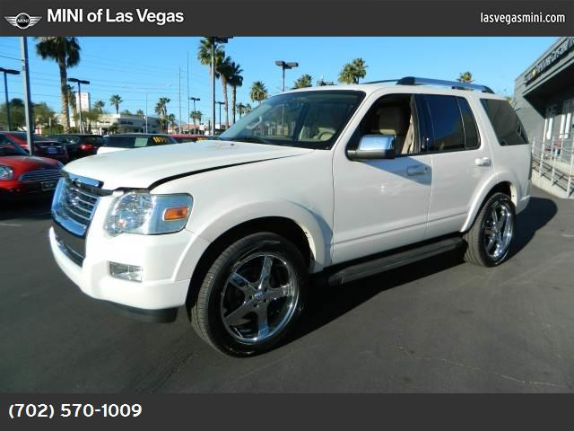 2010 Ford Explorer Limited 40l sohc 12-valve v6 engine  std white platinum metallic tri-coat r