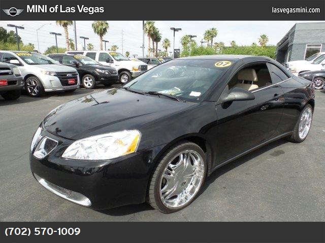 2007 Pontiac G6 GT traction control abs 4-wheel air conditioning power windows power door loc