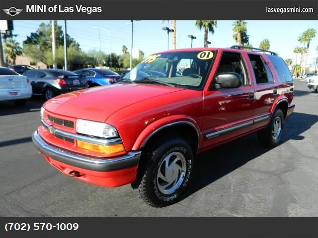 2001 Chevrolet Blazer LT abs 4-wheel air conditioning power steering amfm stereo dual air ba