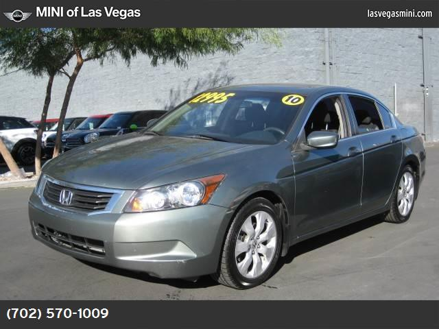 2010 Honda Accord Sdn EX traction control stability control abs 4-wheel keyless entry air con