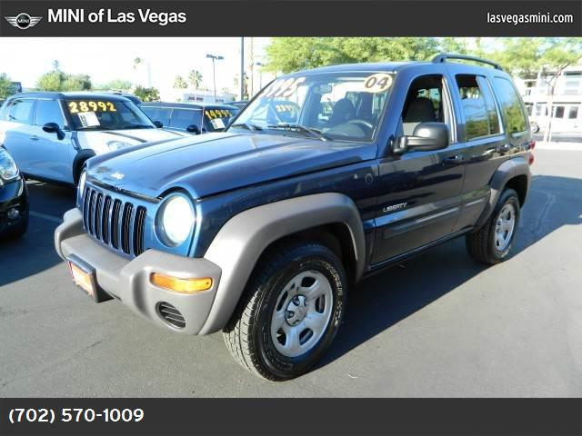 2004 Jeep Liberty Sport air conditioning power steering tilt wheel amfm stereo cd single disc