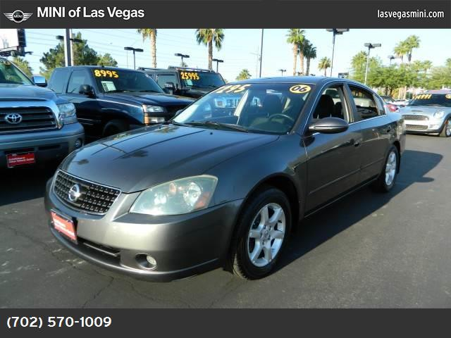 2006 Nissan Altima 25 S special edition air conditioning power windows power door locks cruise