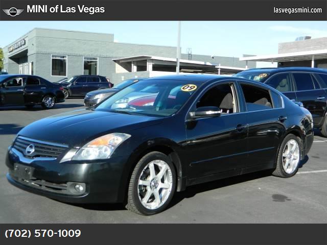 2009 Nissan Altima 35 SE super black front wheel drive power steering 4-wheel disc brakes alum