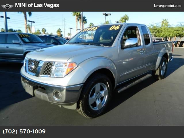 2006 Nissan Frontier LE abs 4-wheel air conditioning sliding rear window power windows power