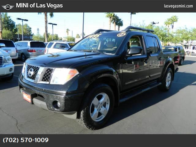 2005 Nissan Frontier 4WD LE abs 4-wheel air conditioning power windows power door locks cruis