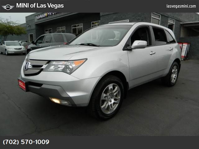 2007 Acura MDX Tech Pkg traction control stability control abs 4-wheel air conditioning air c
