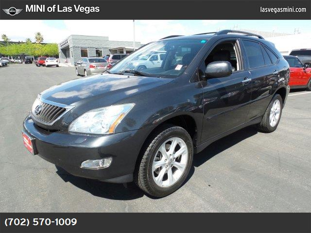 2009 Lexus RX 350  front wheel drive power steering 4-wheel disc brakes conventional spare tire
