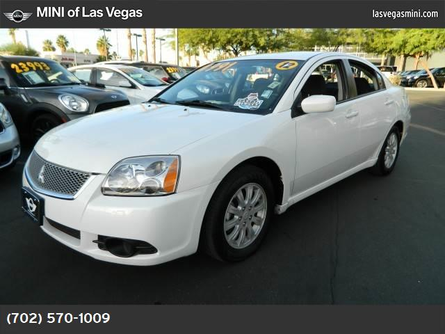 2012 Mitsubishi Galant FE traction control active stability control abs 4-wheel keyless entry