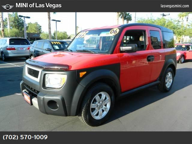 2006 Honda Element EX abs 4-wheel air conditioning power windows power door locks cruise cont