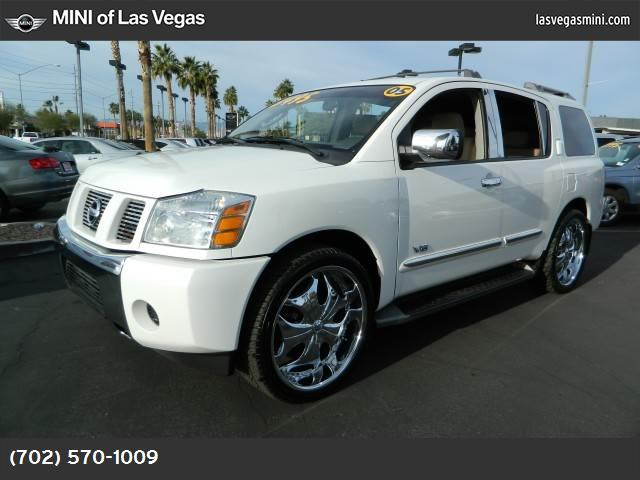 2005 Nissan Armada SE abs 4-wheel air conditioning power windows power door locks cruise cont
