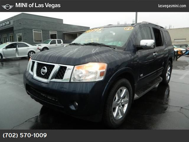 2009 Nissan Armada LE power liftgate release abs 4-wheel keyless entry air conditioning air c