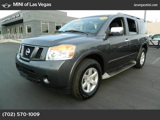 2011 Nissan Armada SV traction control vchl dynamic control abs 4-wheel keyless entry air con