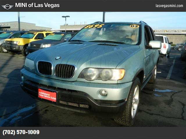 2003 BMW X5 30i hill descent control traction control stability control abs 4-wheel air cond