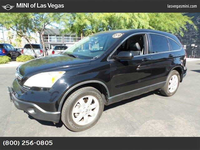 2009 Honda CR-V EX-L black  seat trim crystal black pearl crystal black pearl front wheel drive