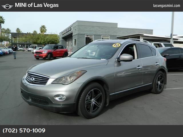 2010 Infiniti EX35 Journey technology pkg traction control vchl dynamic control abs 4-wheel k
