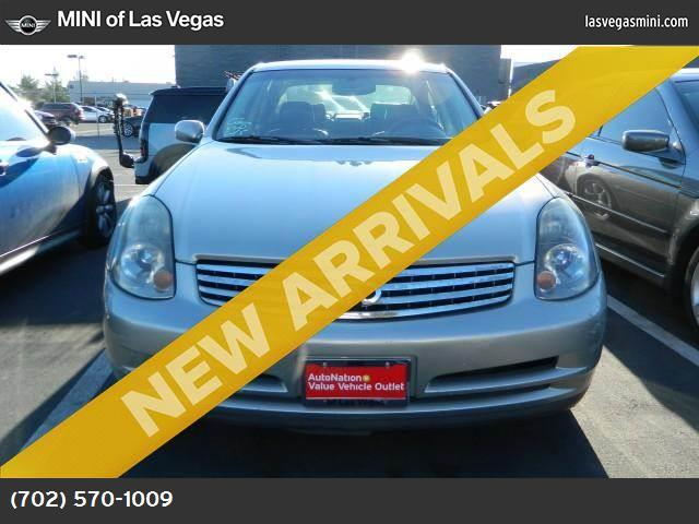 2003 Infiniti G35 Sedan wLeather traction control abs 4-wheel air conditioning power windows