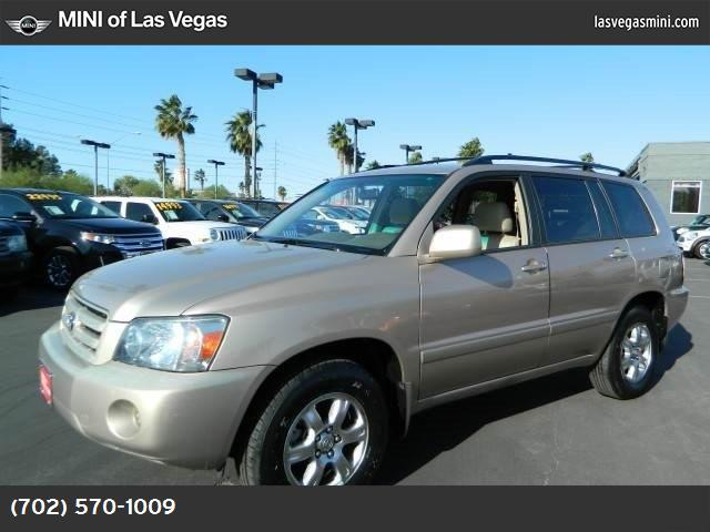 2006 Toyota Highlander w3rd Row traction control stability control front wheel drive tires - fr