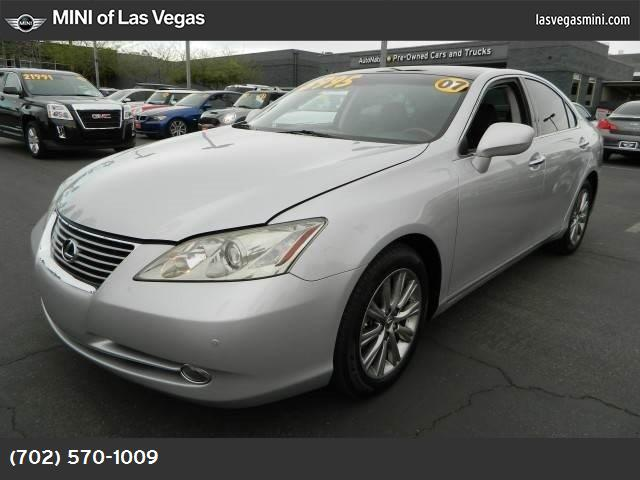 2007 Lexus ES 350  keyless start traction control stability control front wheel drive tires - f