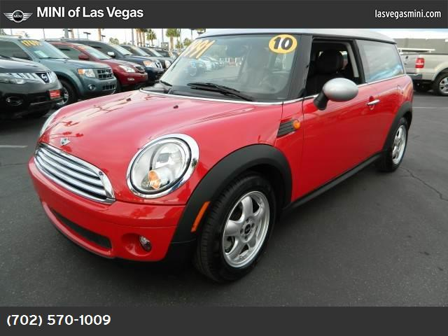 2010 MINI Cooper Clubman  sport pkg traction control dynamic stability control abs 4-wheel ke