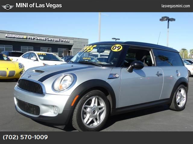 2009 MINI Cooper Clubman S sport pkg traction control dynamic stability control abs 4-wheel k