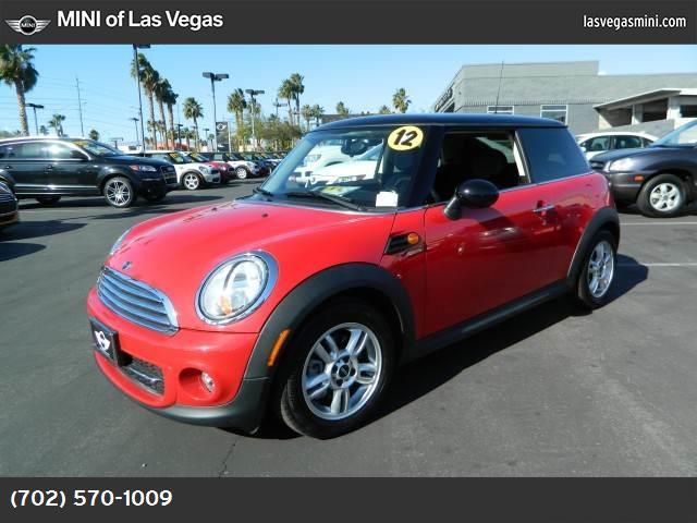 2012 MINI Cooper Hardtop  chili red front wheel drive keyless start power steering 4-wheel disc