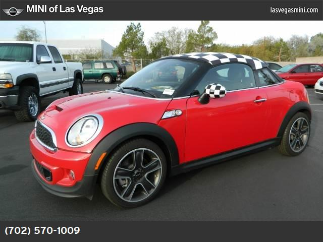 2014 MINI Cooper Coupe S mini connected pkg dynamic stability control abs 4-wheel keyless entr